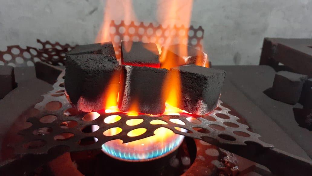 Coconut Bricket Charcoal (Cube)